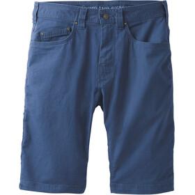"Prana M's Bronson Shorts 9"" Inseam Equinox Blue"